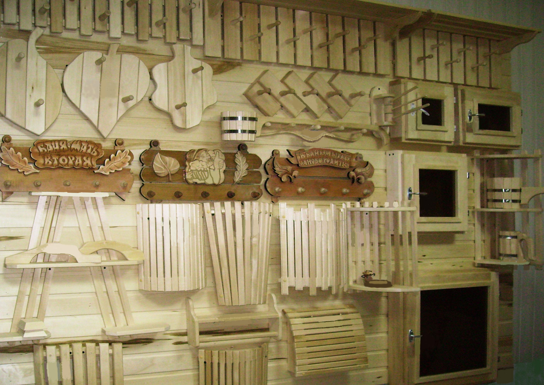 Банные принадлежности: особенности изделий из дерева